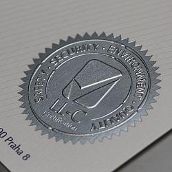 Razba folie relief-Certifikát2 ok